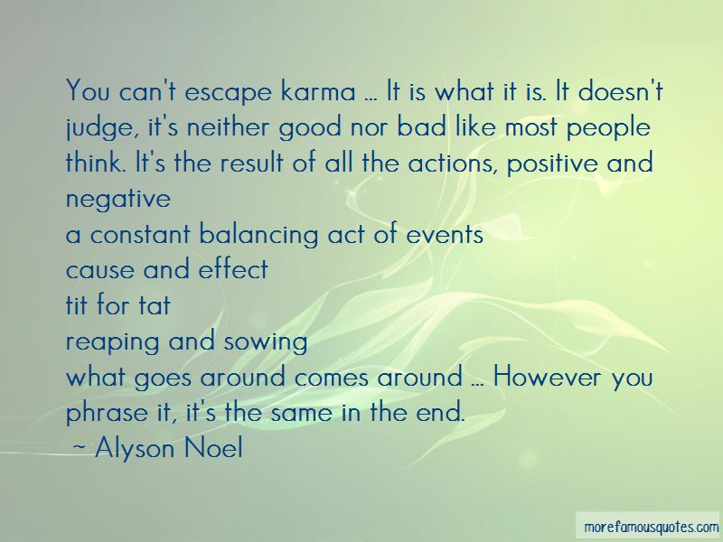 Quotes About Cause And Effect