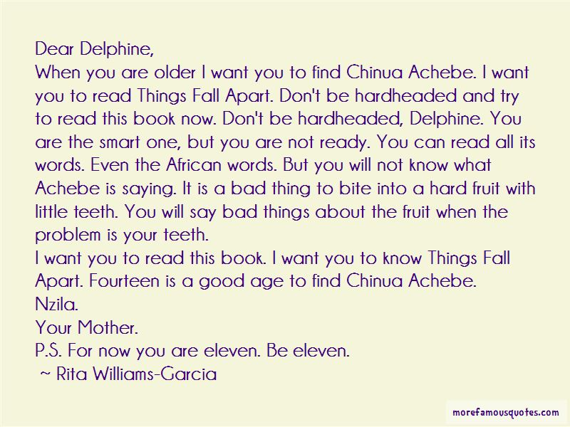 Quotes About Chinua Achebe