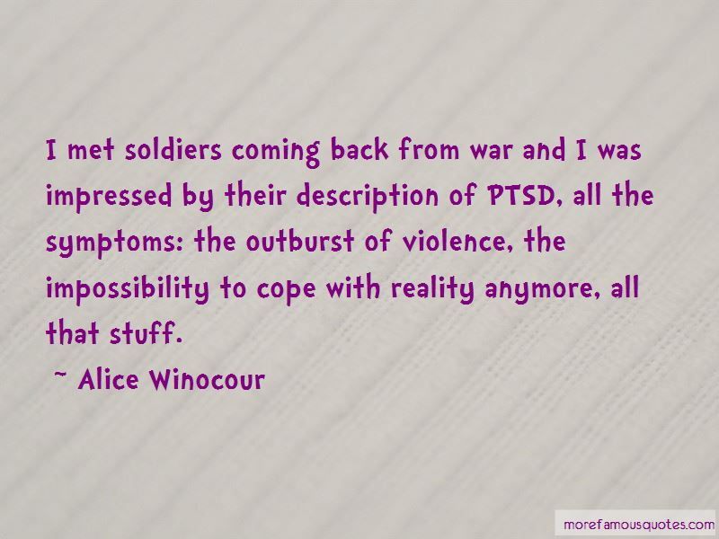 Quotes About Coming Back From War