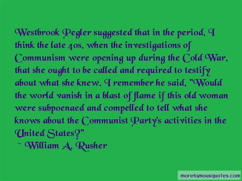Communism During The Cold War Quotes Pictures 4