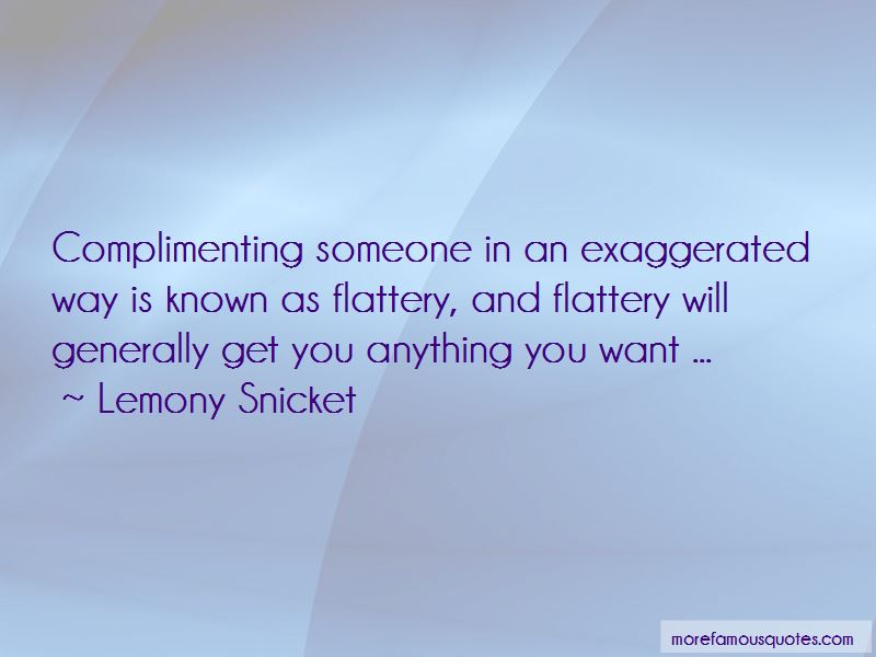 Quotes About Complimenting Someone