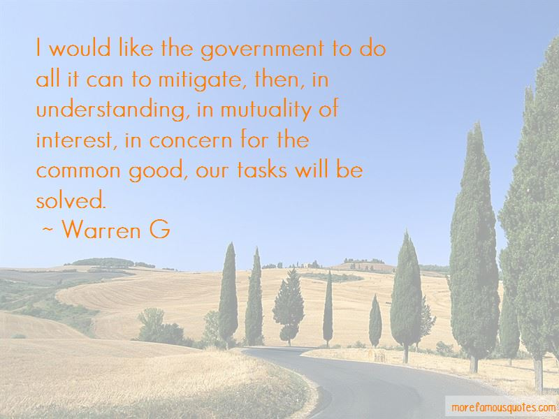 Quotes About Concern For The Common Good
