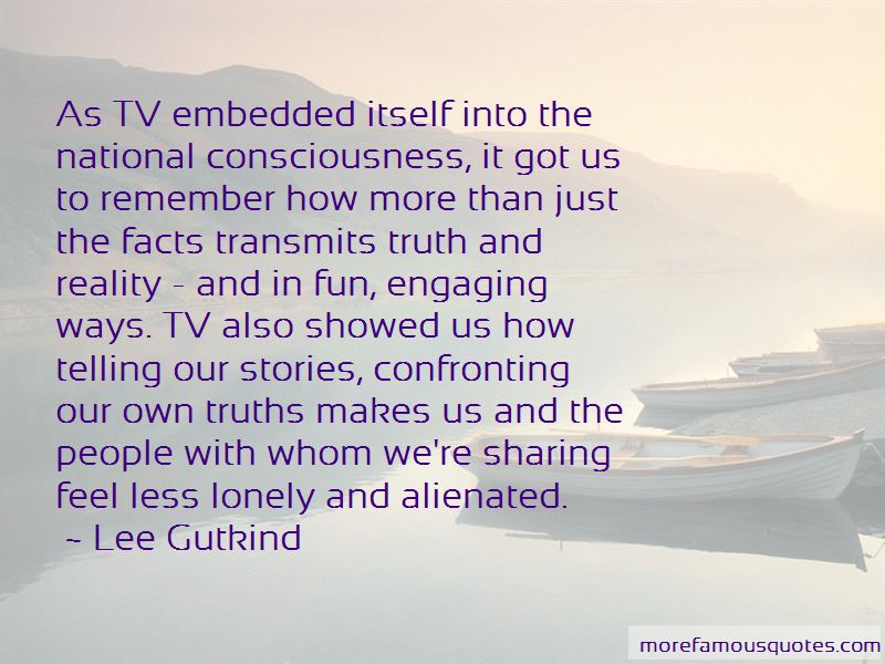 Confronting The Truth Quotes Pictures 4