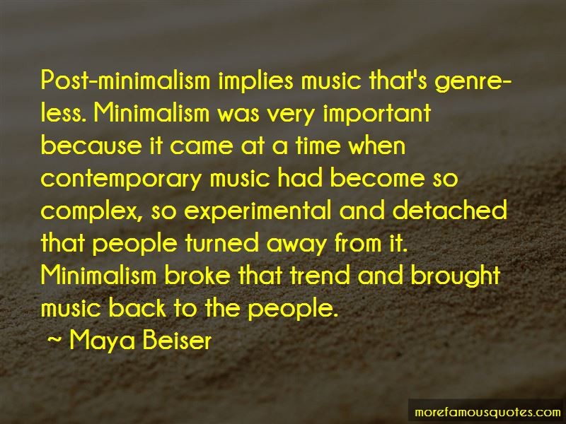 Quotes About Contemporary Music