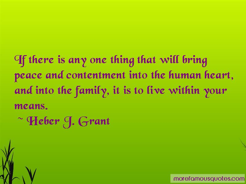 Quotes About Contentment In Family