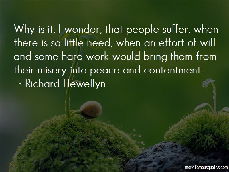 Contentment In Work Quotes Pictures 3