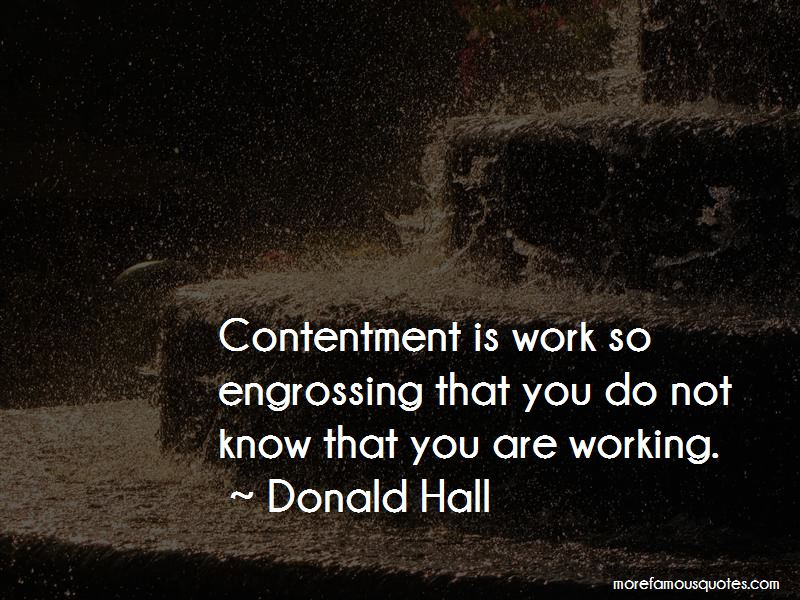Quotes About Contentment In Work