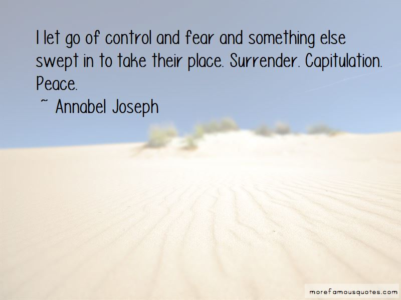 Quotes About Control And Fear