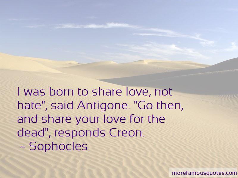 antigone work quotes