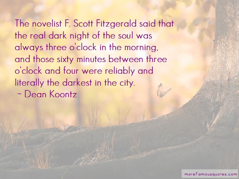 Dark Night Of The Soul Quotes Pictures 4