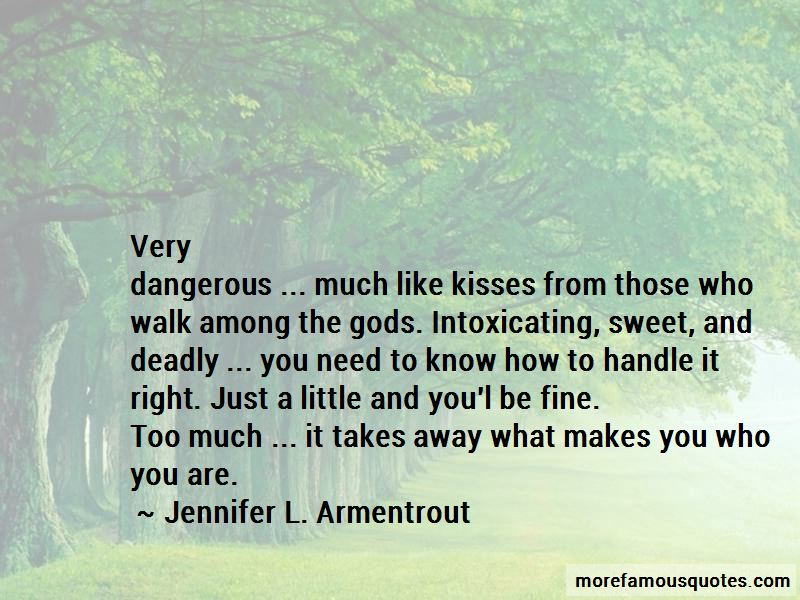 Quotes About Deadly Kisses