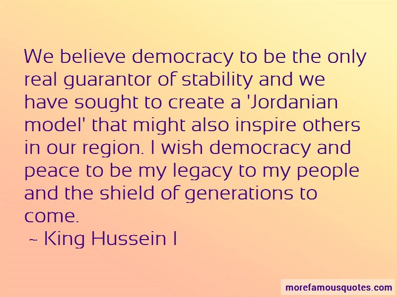 Quotes About Democracy And Peace