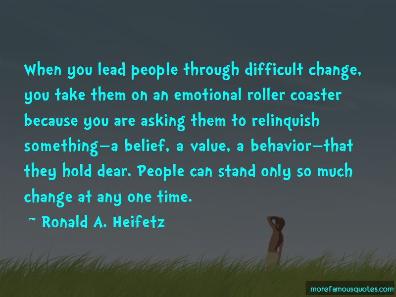 Quotes About Difficult Change