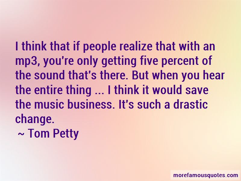 Quotes About Drastic Change