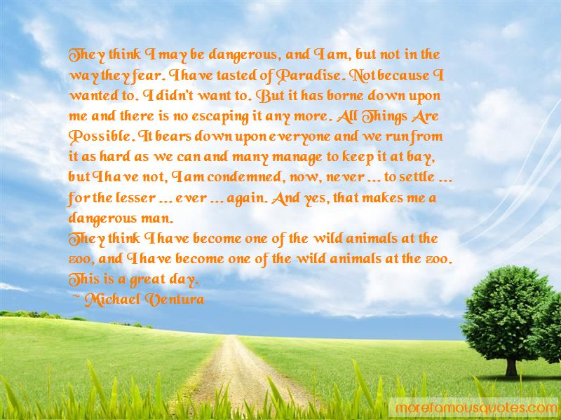 Quotes About Escaping To Paradise