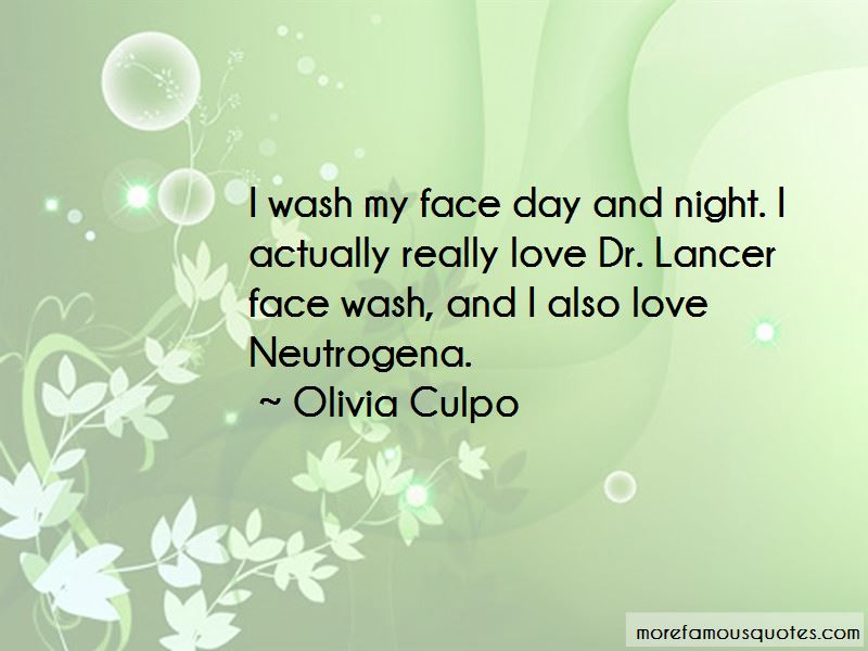 Face Wash Quotes Pictures 3