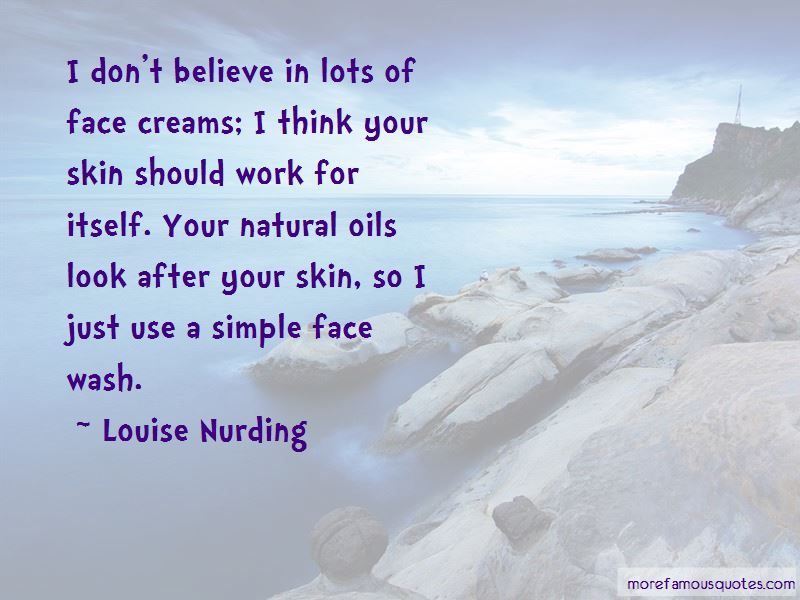 Quotes About Face Wash