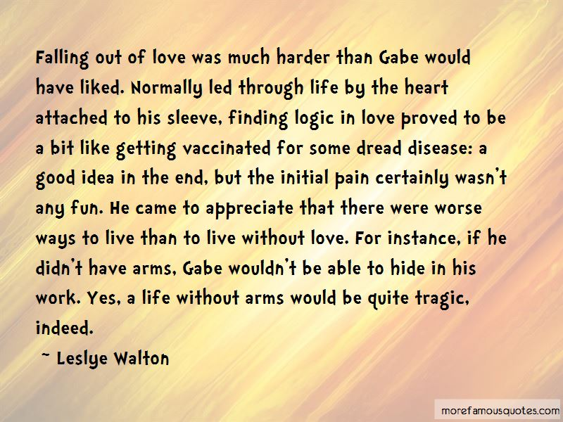 Quotes About Falling Out Of Love: top 64 Falling Out Of Love ...