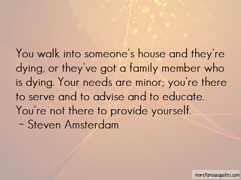 Quotes About Family Member Dying
