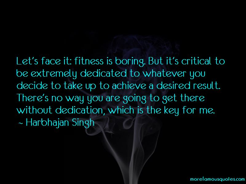Quotes About Fitness Dedication