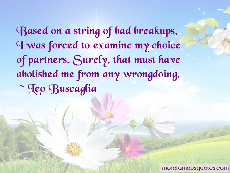 Quotes About Forced Breakups