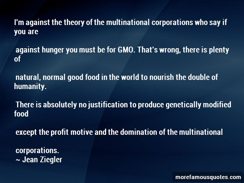 Quotes About Genetically Modified Food