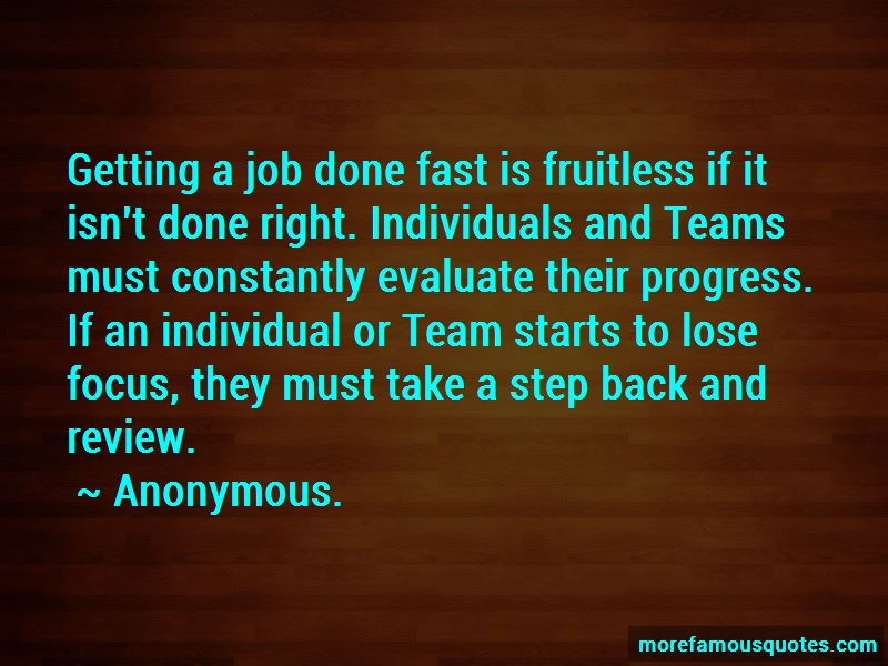 Getting A Job Done Quotes Pictures 2