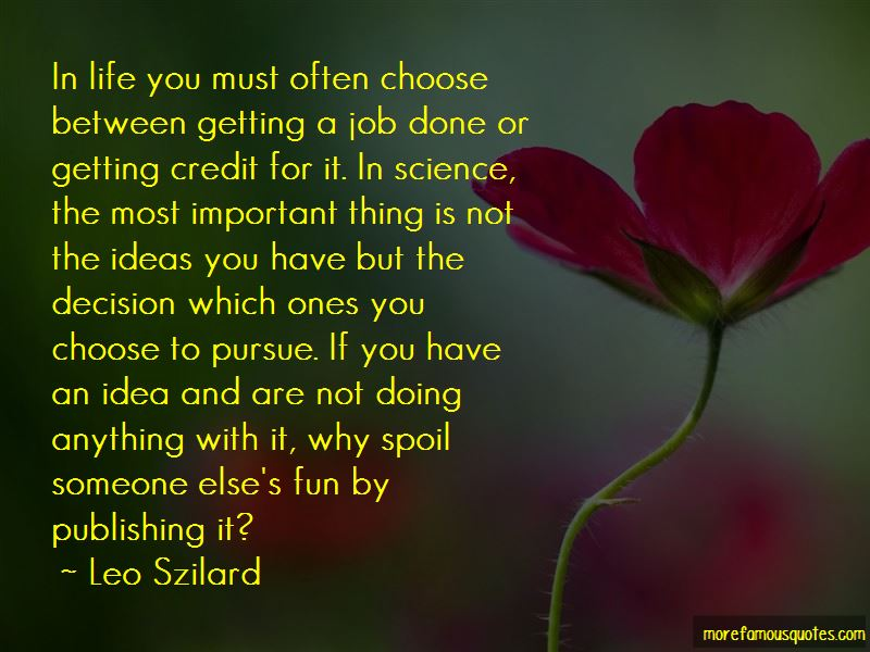 Getting A Job Done Quotes Pictures 3