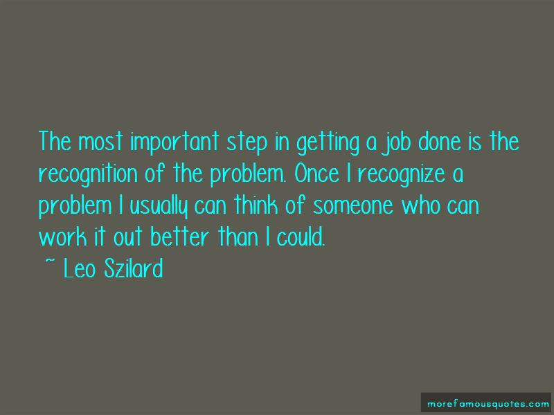 Quotes About Getting A Job Done