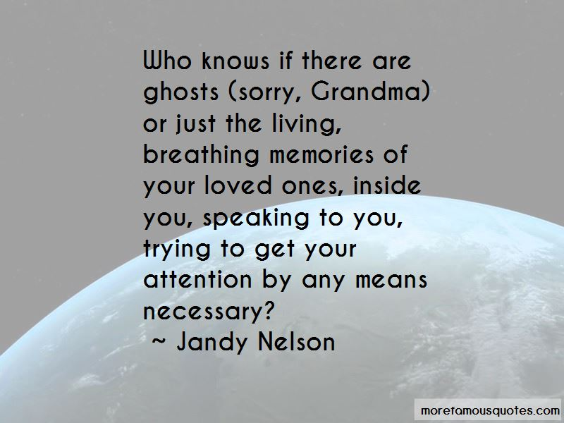 Ghosts And Memories Quotes Pictures 4