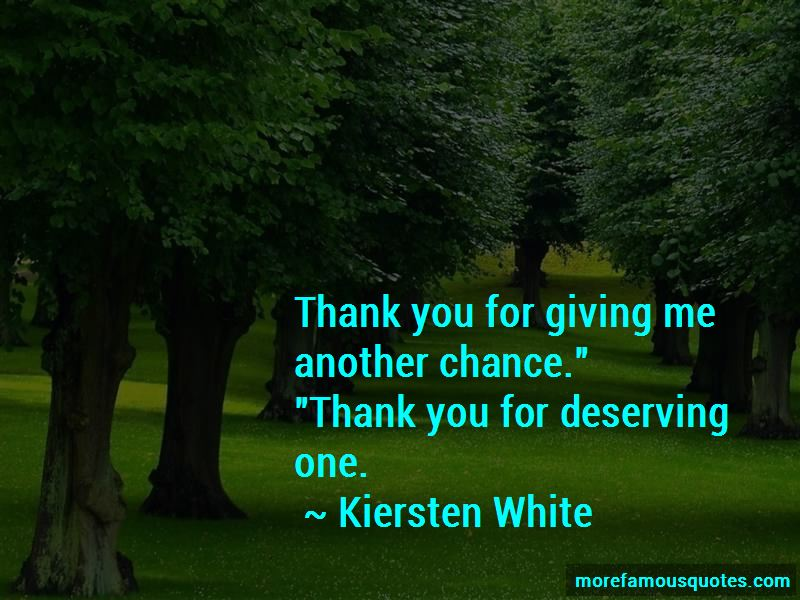 Quotes About Giving An Ex Another Chance: top 13 Giving An