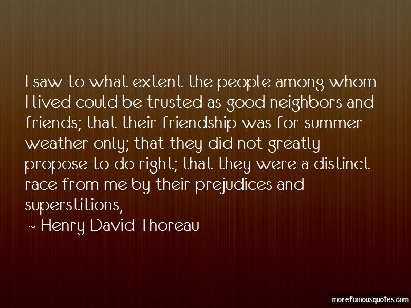 Quotes About Good Neighbors And Friends