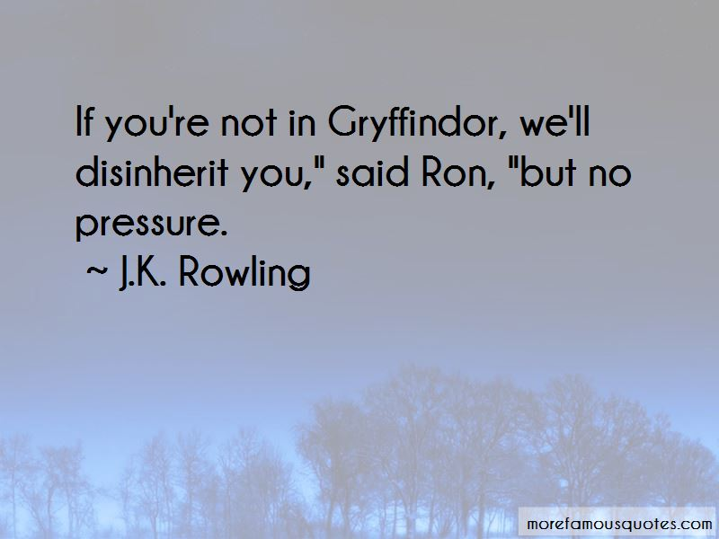 Quotes About Gryffindor
