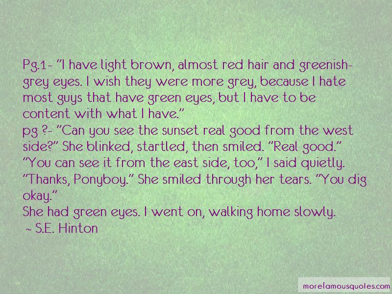 Guys With Green Eyes Quotes Pictures 2