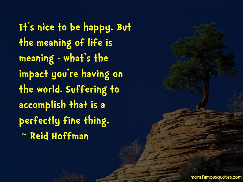 Having An Impact On The World Quotes Pictures 4