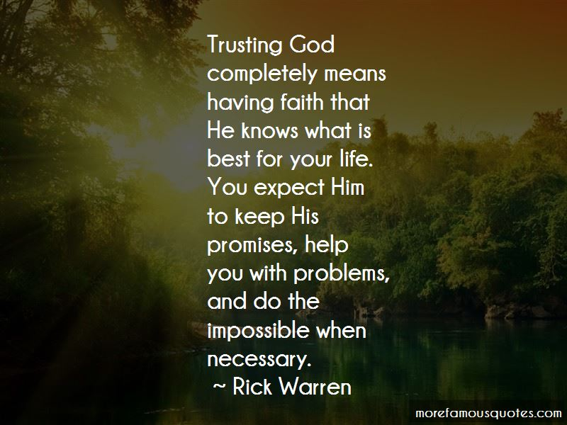 Quotes About Faith And Trust In God Inspiring Quotes