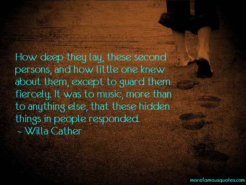 Hidden Things Quotes Pictures 2