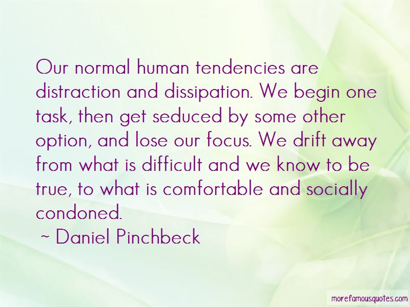Quotes About Human Tendencies