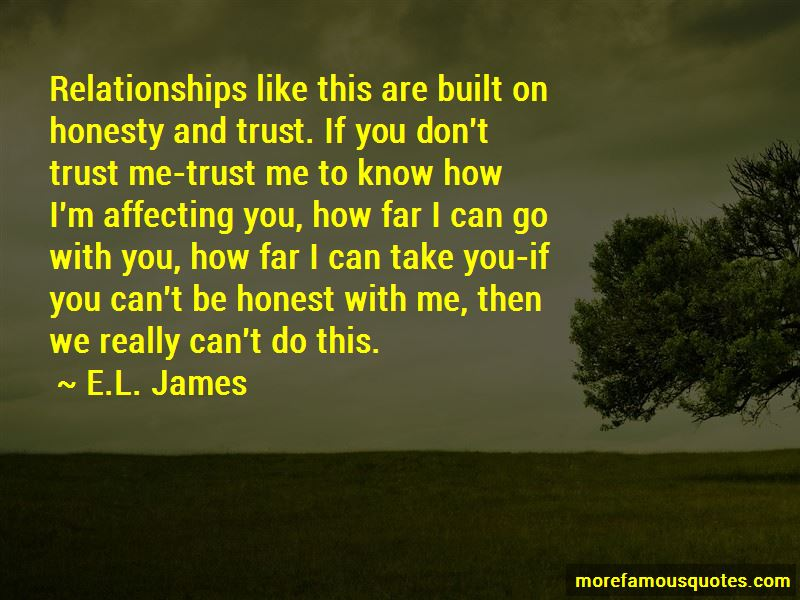 Quotes About If You Don't Trust Me