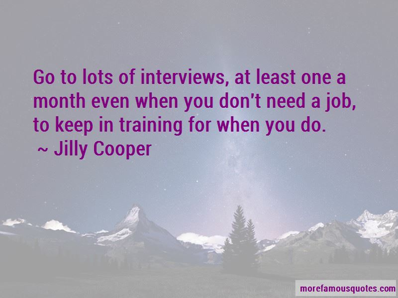 Quotes About Interviews For A Job