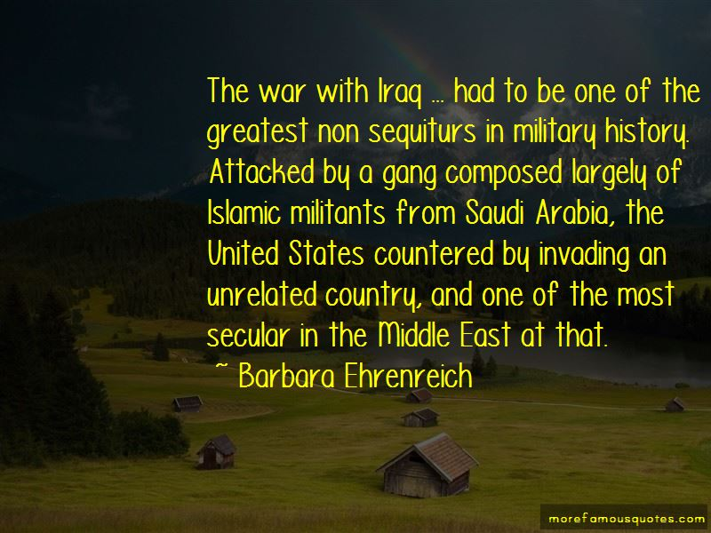 Quotes About Invading The United States