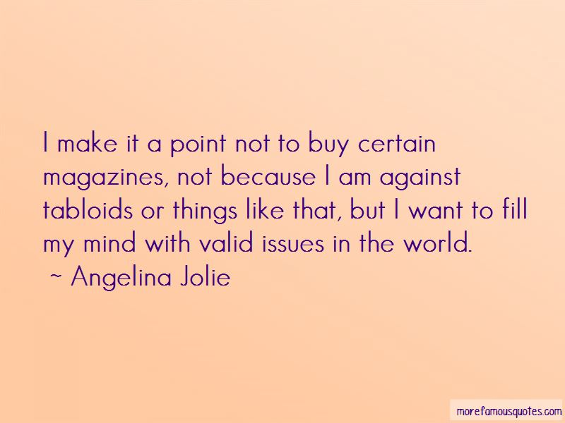 Quotes About Issues In The World