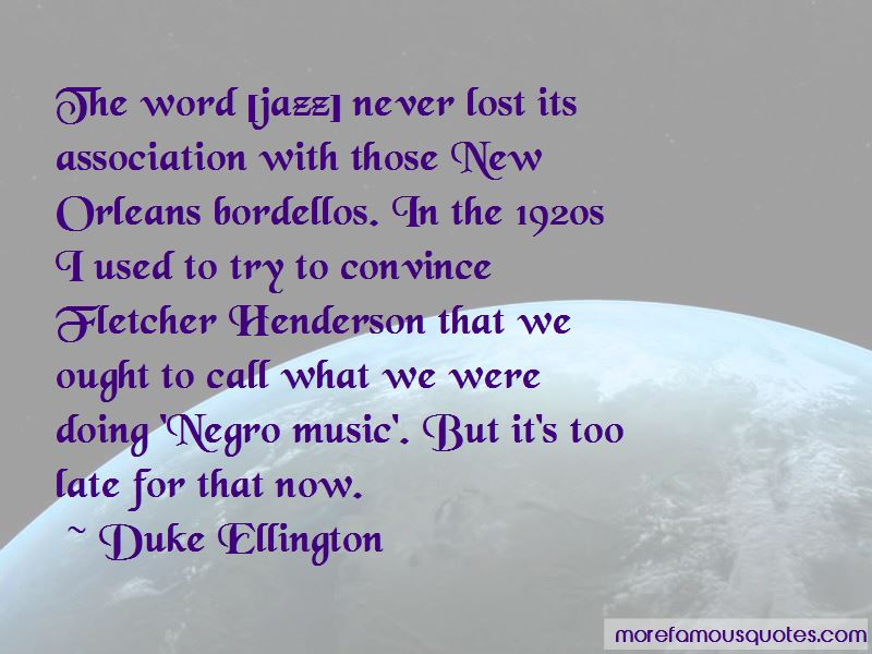 Quotes About Jazz Music In The 1920s