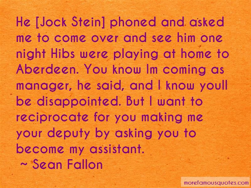 Quotes About Jock Stein