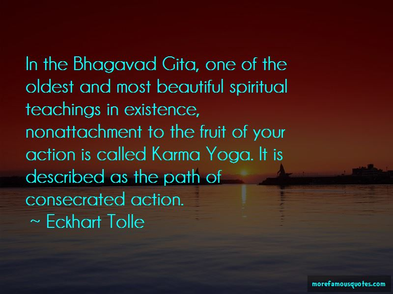 Karma From Bhagavad Gita Quotes Pictures 4