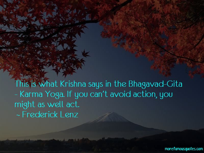 Quotes About Karma From Bhagavad Gita