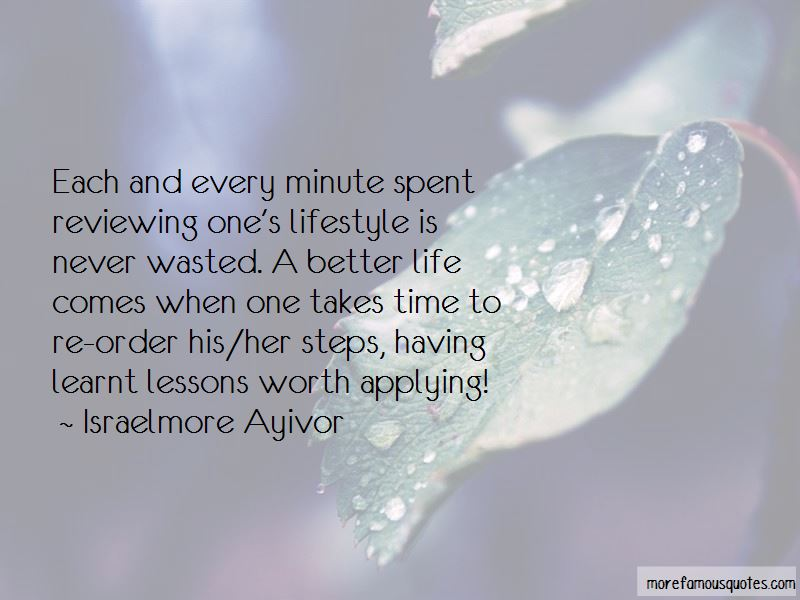Quotes About Lessons Learnt In Life