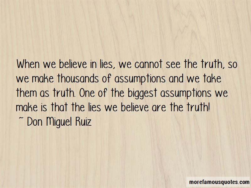 Quotes About Lies We Believe