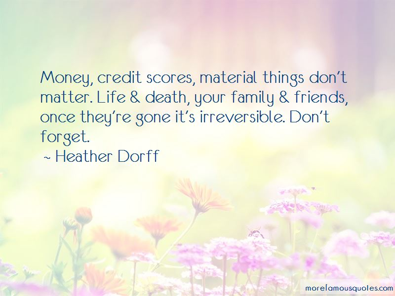 Quotes About Life And Material Things