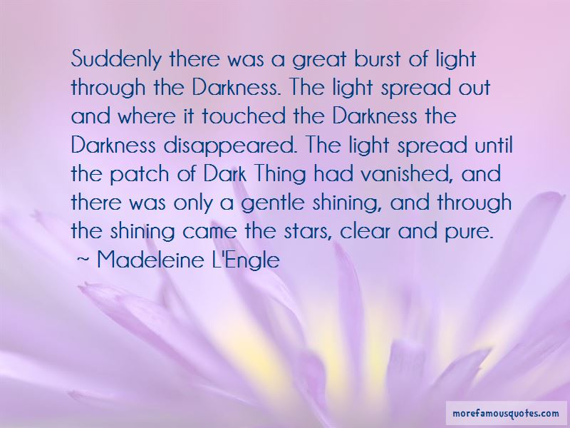 Light Shining Through Darkness Quotes Pictures 4